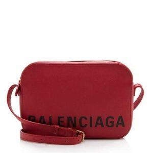 Balenciaga Ville S Camera Crossbody Bag
